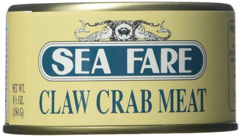 crab meat claw Sea Fare Nutrition info