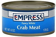 crab meat fancy white Empress Nutrition info