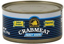 crab meat fancy white International Bazaar Nutrition info