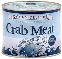 crab meat jumbo lump Ocean Delight Nutrition info