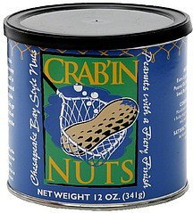crab'in nuts Nut Case Brands Nutrition info