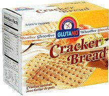 cracker bread Glutano Nutrition info