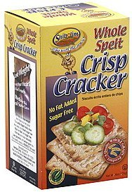 cracker crisp, whole spelt Shibolim Nutrition info
