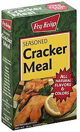 cracker meal seasoned Fry Krisp Nutrition info