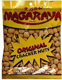 cracker nuts original butter flavor Nagaraya Nutrition info
