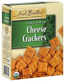 crackers cheese, organic Nash Brothers Trading Company Nutrition info