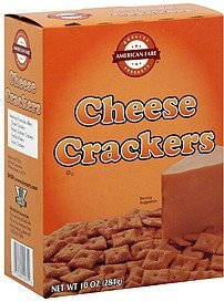 crackers cheese American Fare Nutrition info