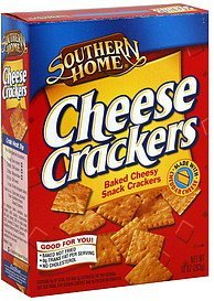 crackers cheese Southern Home Nutrition info