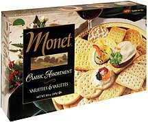 crackers classic assortment Monet Nutrition info