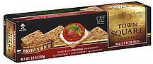 crackers multigrain Town Square Nutrition info