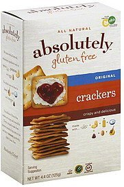 crackers original Absolutely Nutrition info