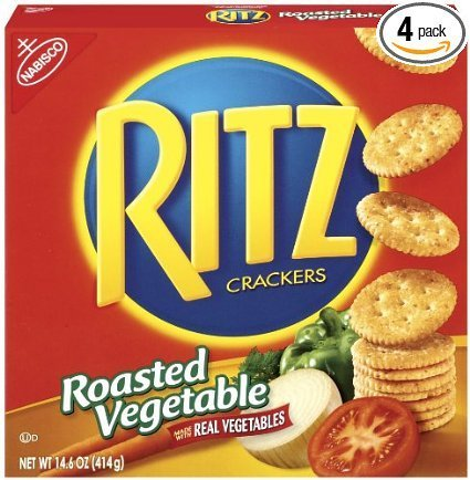 crackers roasted vegetable Ritz Nutrition info