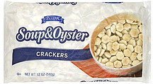 crackers soup & oyster Pampa Nutrition info