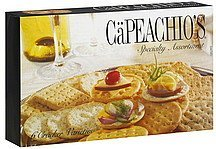 crackers specialty assortment CaPeachios Nutrition info