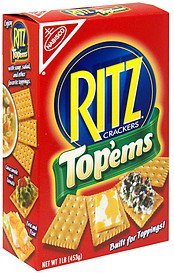 crackers top'ems Ritz Nutrition info