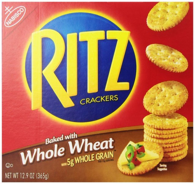 crackers whole wheat Ritz Nutrition info