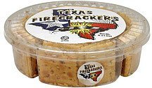 crackers Texas Firecrackers Nutrition info