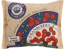 cranberries Stahlbush Island Farms Nutrition info