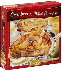 cranberry apple pancake Pancake Cafe Nutrition info