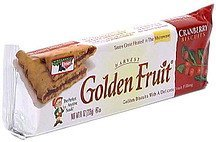 cranberry biscuits Golden Fruit Nutrition info