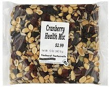 cranberry health mix Valued Naturals Nutrition info