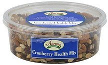 cranberry health mix Aurora Nutrition info