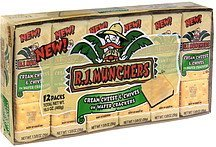 cream cheese & chives on wafer crackers R.J. Munchers Nutrition info
