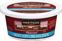 cream cheese light soft American Heritage Nutrition info