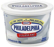 cream cheese reduced fat Philadelphia Nutrition info