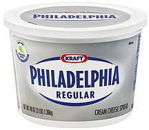 cream cheese spread regular Philadelphia Nutrition info