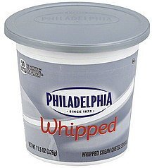 cream cheese spread whipped Philadelphia Nutrition info