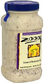 cream of mushroom soup Zooop! Nutrition info