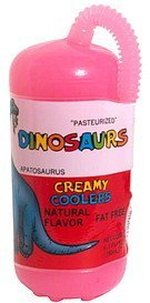 creamy coolers, apatosaurus, cherry Dinosaurs Nutrition info