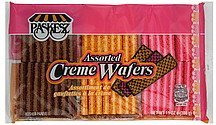 creme wafers assorted Paskesz Nutrition info