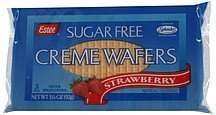 creme wafers sugar free, strawberry Estee Nutrition info