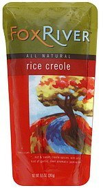 creole rice Fox River Nutrition info