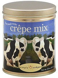 crepe mix Simply Crepes Nutrition info
