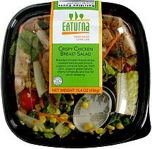 crispy chicken breast salad Eaturna Nutrition info