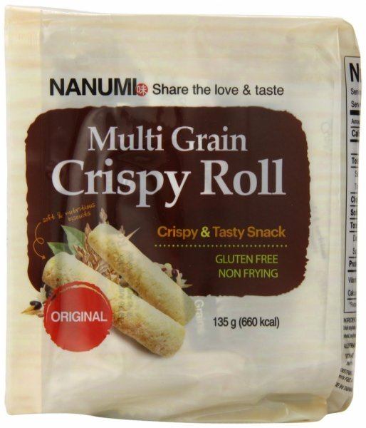 crispy roll multi grain, original Nanumi Nutrition info