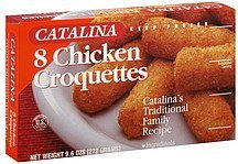 croquettes chicken Catalina Nutrition info