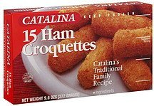 croquettes ham Catalina Nutrition info