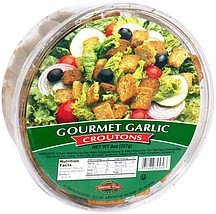 croutons gourmet garlic Ultimate Foods Nutrition info