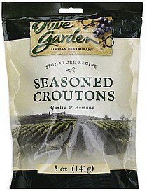 croutons seasoned, garlic & romano Olive Garden Nutrition info