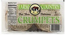 crumpets Farm Country Nutrition info