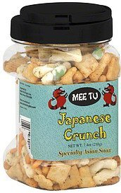 crunch japanese Mee Tu Nutrition info