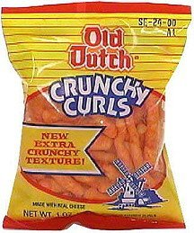crunchy curls Old Dutch Nutrition info