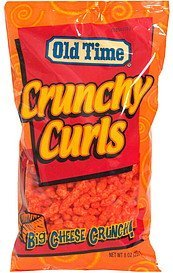 crunchy curls Old Time Nutrition info