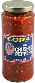 crushed peppers hot Cora Nutrition info