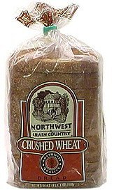 crushed wheat bread Northwest Grain Country Nutrition info