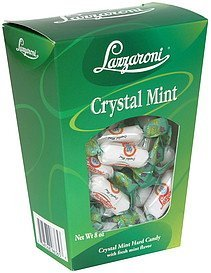 crystal mint hard candy Lazzaroni Nutrition info
